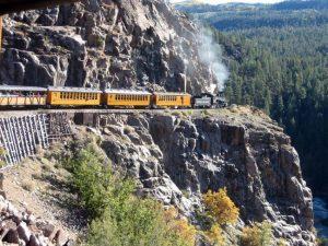 The Durango & Silverton Narrow Gauge Railroad, a site near the Four Corners Monument