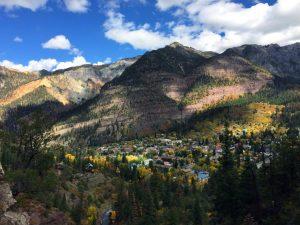 The Perimeter Trail in Ouray, Colorado