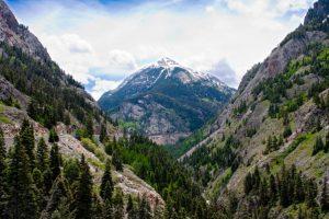 Red Mountain Pass on the Million Dollar Highway