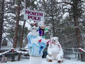 The North Pole in Colorado Springs