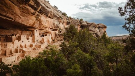 Mesa Verde National Park's Balcony House is a fantastic attraction near where you can stand in four states at once