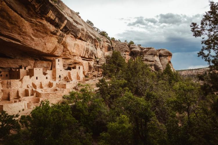 The ancestral ruins at Mesa Verde National Park, one of the best Colorado historical places to visit