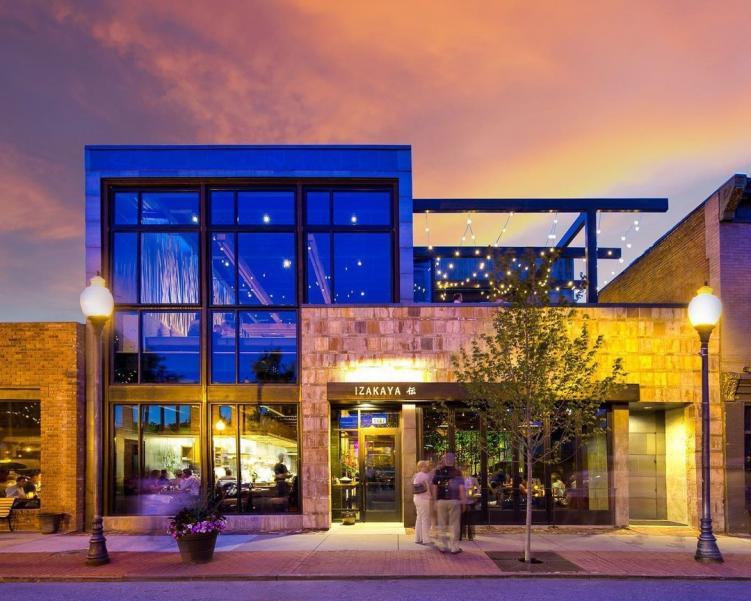 The exterior of Izakaya Den, one of the best restaurants in Denver