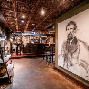 A mural inside Green Russell Denver