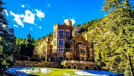 The Glen Eyrie Castle, one of several unique Colorado castles
