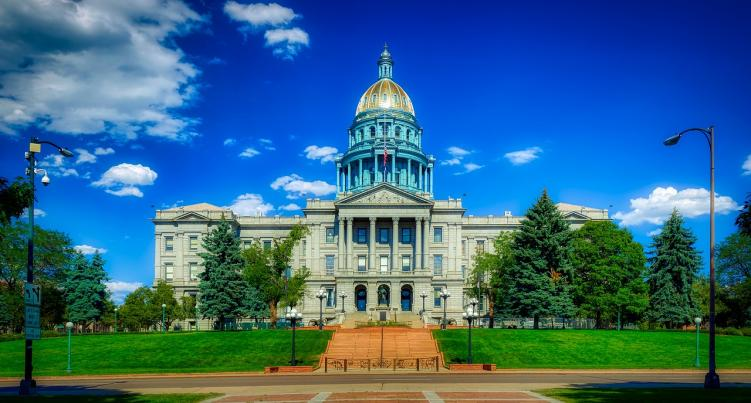 The State Capitol Building in Denver. where weird laws in Colorado are created